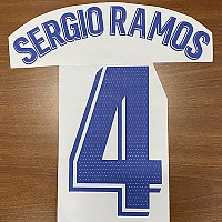 20-21 레알 마드리드 홈- 세르지오 라모스 4번-자컷 네임셋