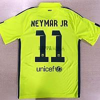 14-15 바르셀로나 3RD NEYMAR JR 11번-자컷 네임셋