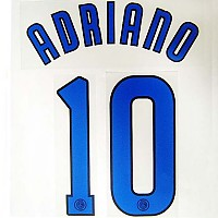 Adriano 10 NN Inter Away 06/07