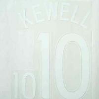 Kewell 10 NN Set/Australia Away 06/07