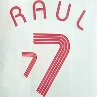 Raul 7 NN Set/Spain Away 06/07