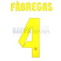 12-13 바르셀로나 4.파브레가스 오피셜 프린팅