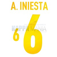 12-14 스페인 홈 6.이니에스타 오피셜 프린팅
